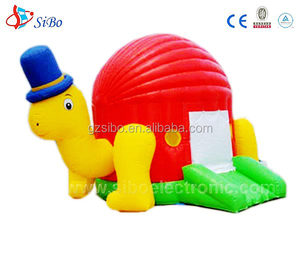 party island inflatable jungle theme bouncer