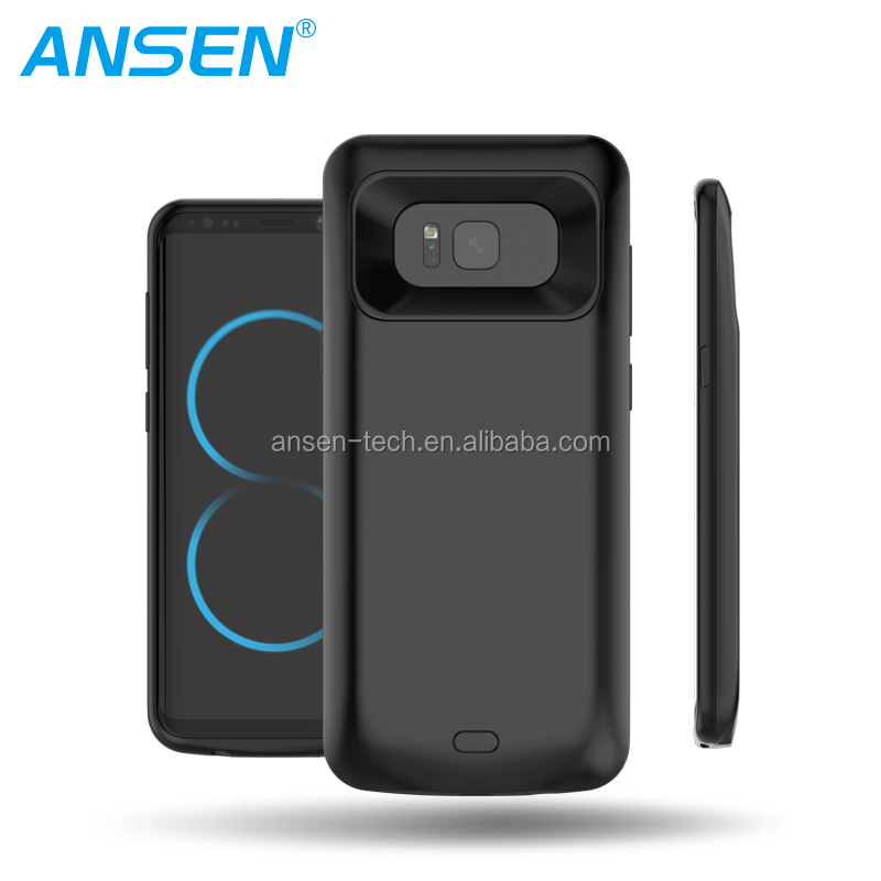 Case Charger For Samsung Galaxy S8 5000mAh Sample Test Easy Take Battery Power case