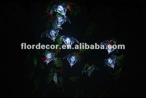 Solar powered halloween bat string lights/Solar powered led string lightsSO4366