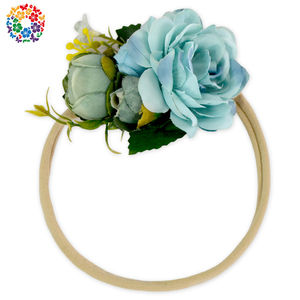 Boutique Cheap Price Hair Accessories Wedding Baby Girls Flower Bridal Hair Ornaments