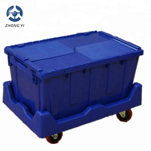 70 litre Plastic Crate Solid Box Moving Crate