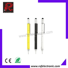 Multi-function tool pencil with pencil+ruler+inch+screw driver+touch pen