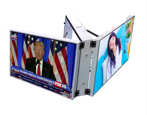 Ip68 Aluminum Module Front Access Giant Advertising P6.67 p8 p10 Outdoor LED Screen