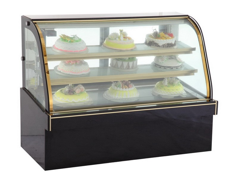 Mini Cake Display Refrigerator Bakery Countertop Showcase
