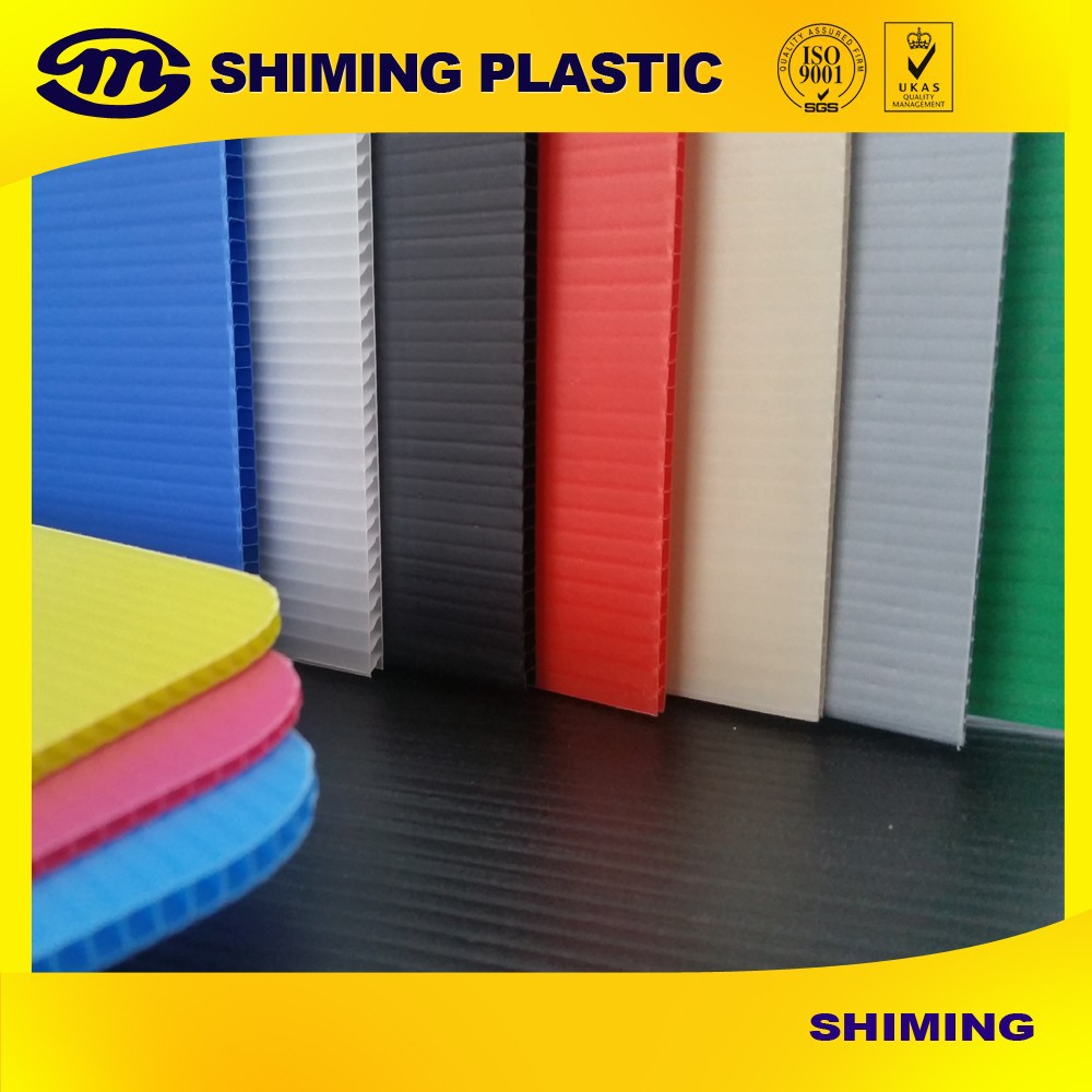 Pasted Heatproof Heat Resistant Easily Maintained Coroplast Sheet