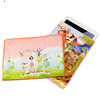 Customized Gold Powder Printing Drawstring Microfiber Cosmetic Bag