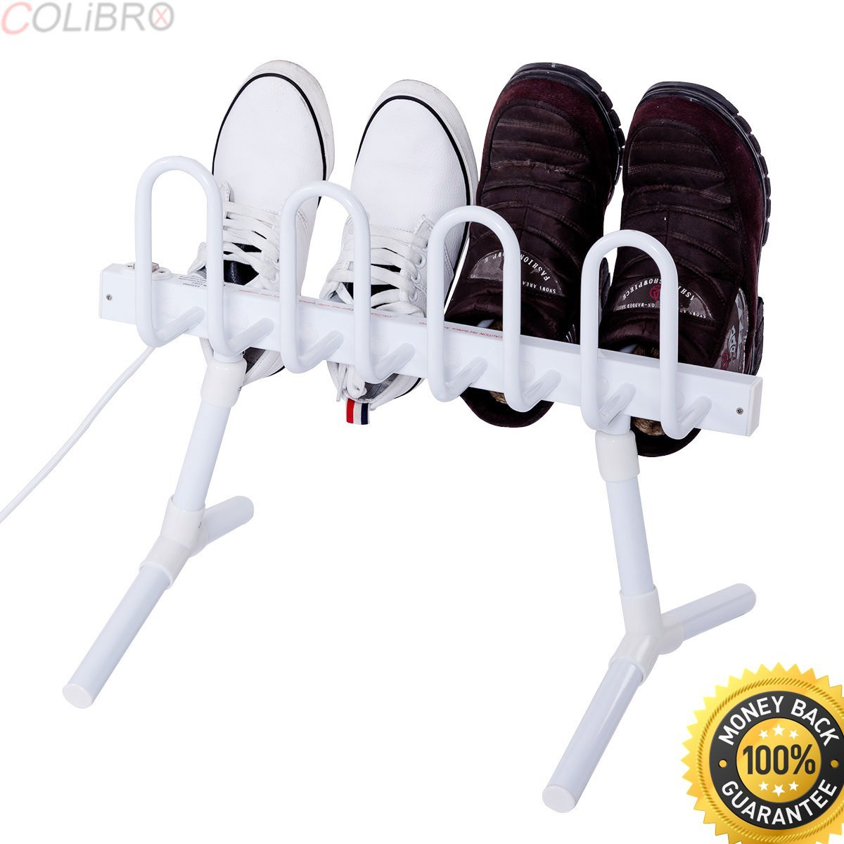 COLIBROX--Freestanding Electric Shoe Drying Rack Dries Dehumidifies Shoes Boots Gloves. shoe drying rack for dryer. shoe rack for samsung dryer. boot drying rack. shoe dryer amazon. portable ski boot.