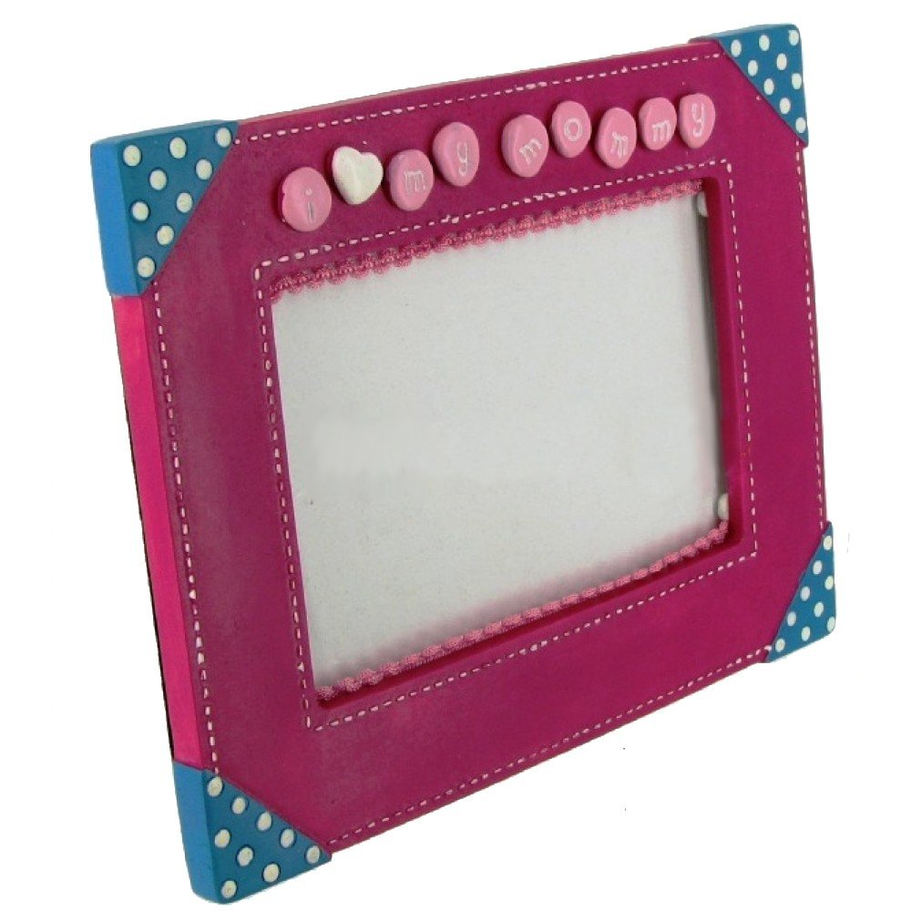 "'I Love My Mommy' 4"" x 6"" Pink Picture Frame by Russ Berrie"