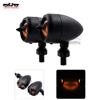 BJ-SL-073 Motorcycle Aluminum parts Cafe Racer M10 Turn signal LED light for Cruiser Chopper