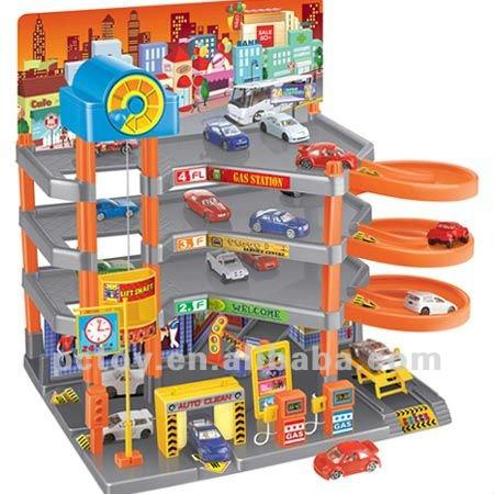 Super Garage Playset Children S Playsets Kids Plastic Product On Alibaba
