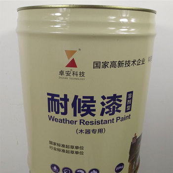 Waterproof Paint Coating Weather Resistant For Wood Structure