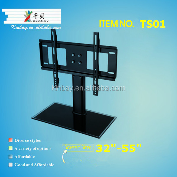 55 Inch LCD LED Plasma Glass TV <strong>Stand</strong>