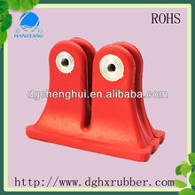 High Quality rubber shock absorber buffer/anti vibration rubber mount /screw rubber feet
