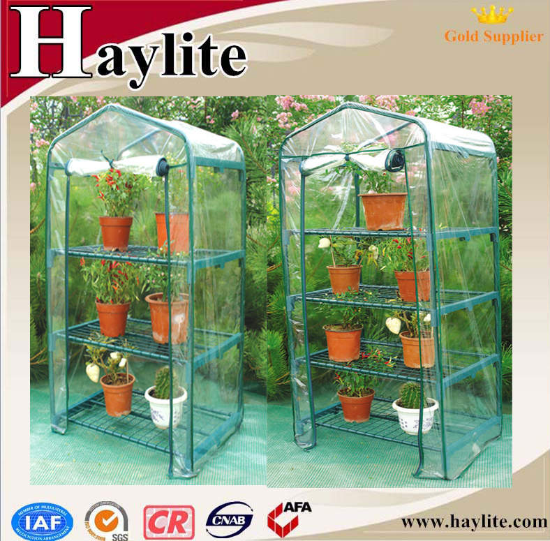 polycarbonate greenhouse for agriculture used with panels and set