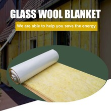 Polyethylene Insulation R-Value Glass Wool Blanket