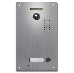IP VIDEO INTERCOM DOOR ENTRY MONITOR, HD LIVE VIEW, TOUCH SENSITIVE 7 INCH SCREEN