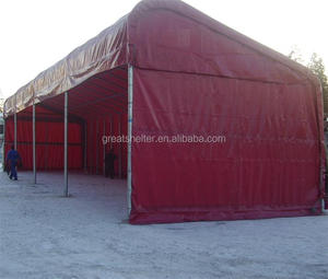 truck parking large size fabric shelter canopy garage