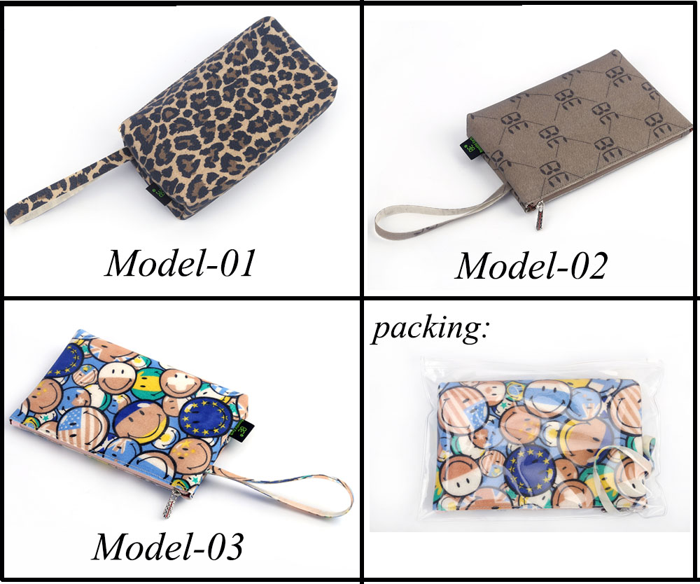 OEM Женская мода необычные Силиконовые ткани ручной сумки для продвижения