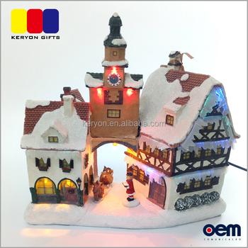 Miniature Christmas Village.Handmade Custom Musical Light Up Xmas Houses Miniature Christmas Village Buy Christmas Village Light Christmas Village Handmade Houses Miniature