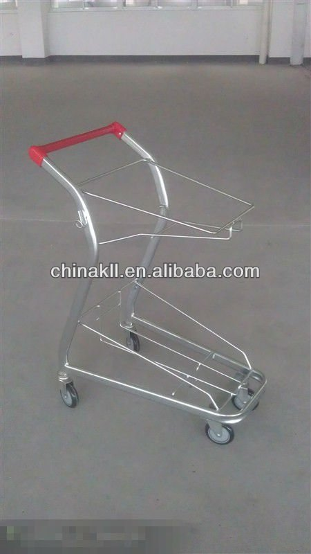 Papua New Guinea Supermarket metal shopping trolley