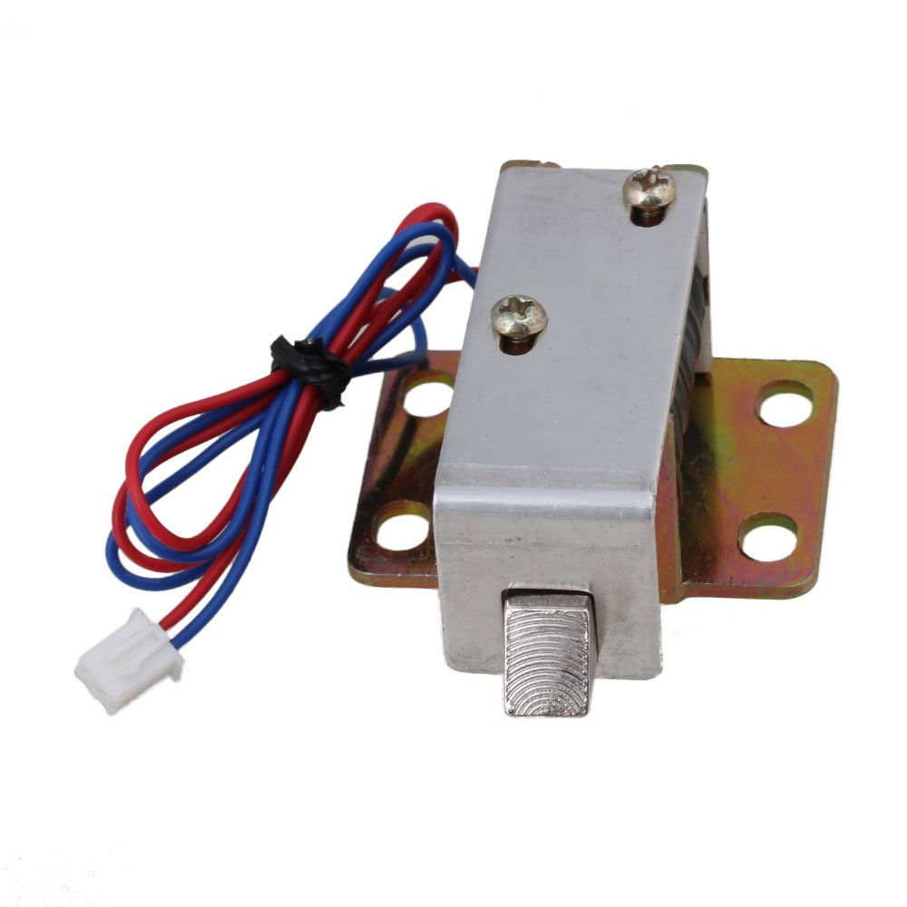 6V Electric Lock Assembly Solenoid Storage Cabinet Door TFS-A11