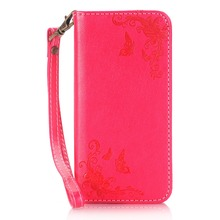 2016 for Samsung Galaxy S3 Butterfly flower case Embossed Laser Carved Leather Case for Samsung Galaxy S3 Phone Case