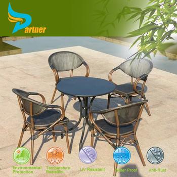 space saving popular durable metal rattan furniture used