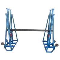 electrical cable drum jack10 ton hydraulic cable reel jack stand 5 ton cable drum stand