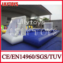 Inflatable Water Soccer Ball Playground, Inflatable Football Pool, Inflatable sport game Court for summer