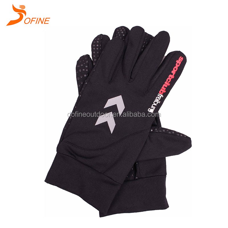 Custom print high quality professional anti-skid sports club cycling gloves