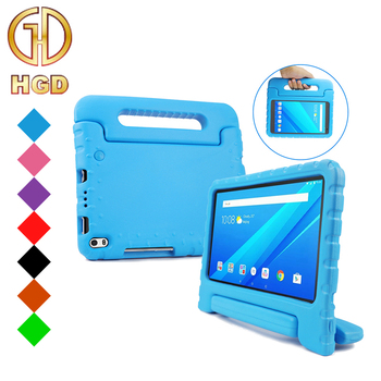 Case for Lenovo TAB 4 8 inch PLUS Tablet HGD Shockproof Lightweight Convertible Handle Stand EVA Foam Cover