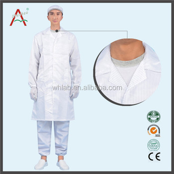 White Anti-static Lab Coats Work Overall - Buy Work Overall,Lab ...