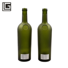 Good feedback factory supply frost green weight 750 ml wine bottle