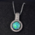 Multi Color Australian Hawaii Opal Pendant Women Jewelry Girls Gift
