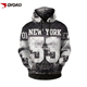 Print Pullover Tops hoodies sweatshirt men