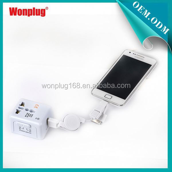 Fashion Type Cool 1 Year Guarantee Free Sample 5v 2a usb travel charger power adapter