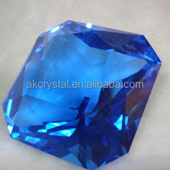 Unique square shape fancy crystal diamond/ colorful crystal diamond glass diamond