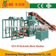 Hollow block making machine QT4-20 construction equipments best selling products Philippines Youtube machines for sale