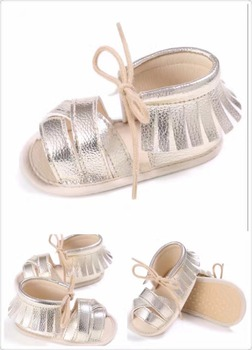 a265315edc6b3 2017 New Arrival Baby Girl Shoes Roman Baby Summer Sandal Tassel Fancy Baby  Shoes Blue Gold Silver Blue Pink 5 Colors - Buy Cheap Silver ...