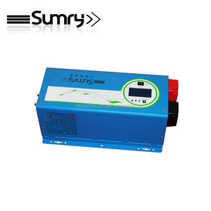 Hot sale 48v dc to ac power inverter, 24V 230V dc to ac power inverter 5000w with charger for solar system