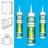 Excellent Adhesion Non-toxic Waterproof Silicone Sealant With Small Tube