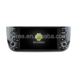 2-din car dvd for fiat punto Android car dvd players with GPS auto 2 double din radio audio central multimedia stereo