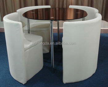 buy space saving furniture. oval spacesaving dining furniture glass table pvc chairs buy space saving r