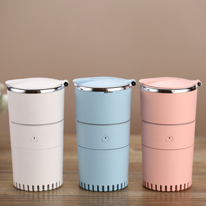 Home decorative colorful night lights ultrasonic usb donut air diffuser humidifier fogger mist maker