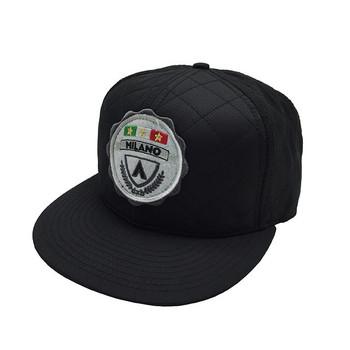 9b5c6284 custom patch cotton snapback cap hats applique wholesale with logo