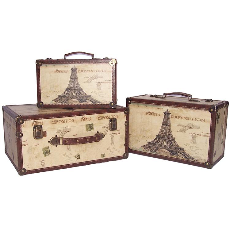 Mdf & Wooden Decorative Storage Suitcase - Buy Decorative