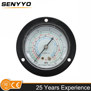 High pressure gauge price china cheap 3.8 Mpa freon water pressure gauge