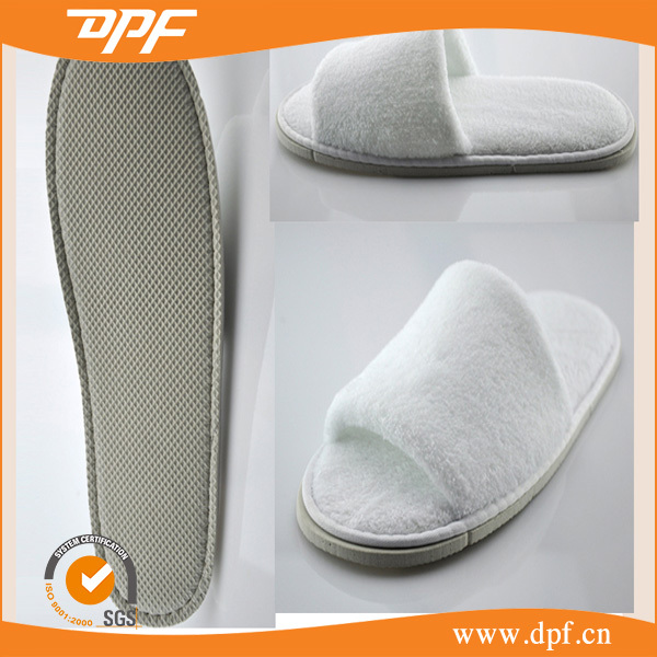 Super Soft Warm Indoor Cotton Open Toe <strong>Slipper</strong> For Guest