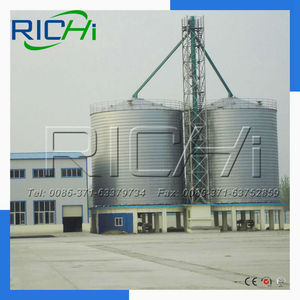 Good quality 500 ton steel cement silo tank