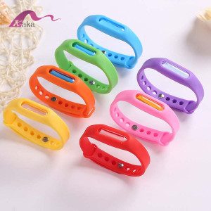 Fashion multi-color Anti mosquito bracelet for children Kids mosquito band